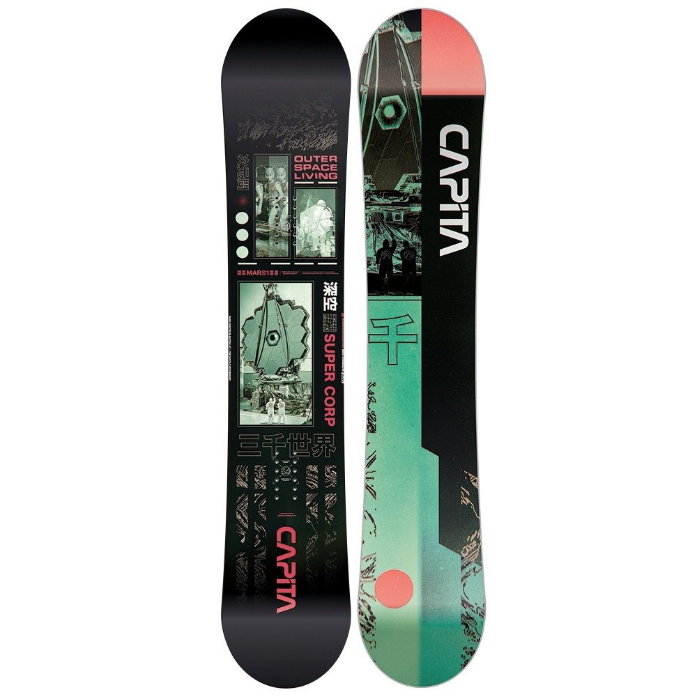 CAPiTA Outerspace Living Snowboard (Men's) - 154