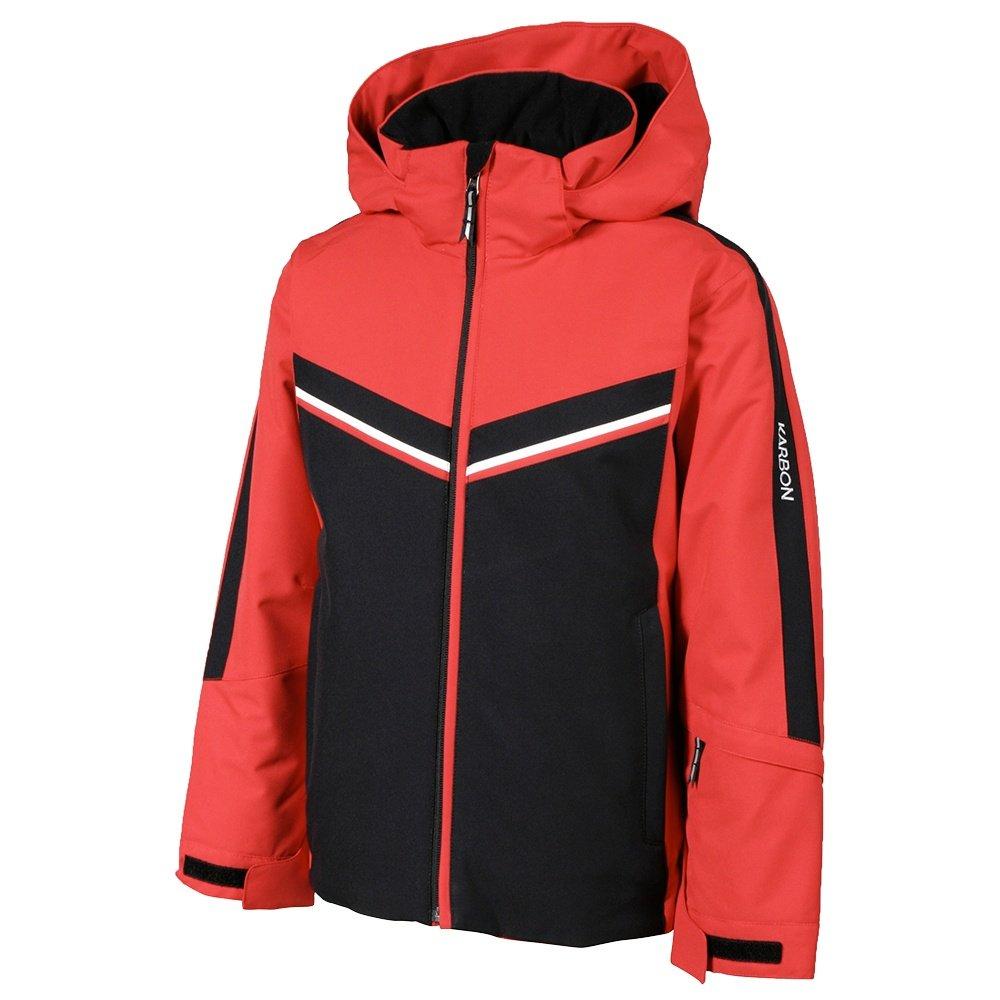 Karbon Velocity Insulated Ski Jacket (Boys') - Red/Black/Arctic White