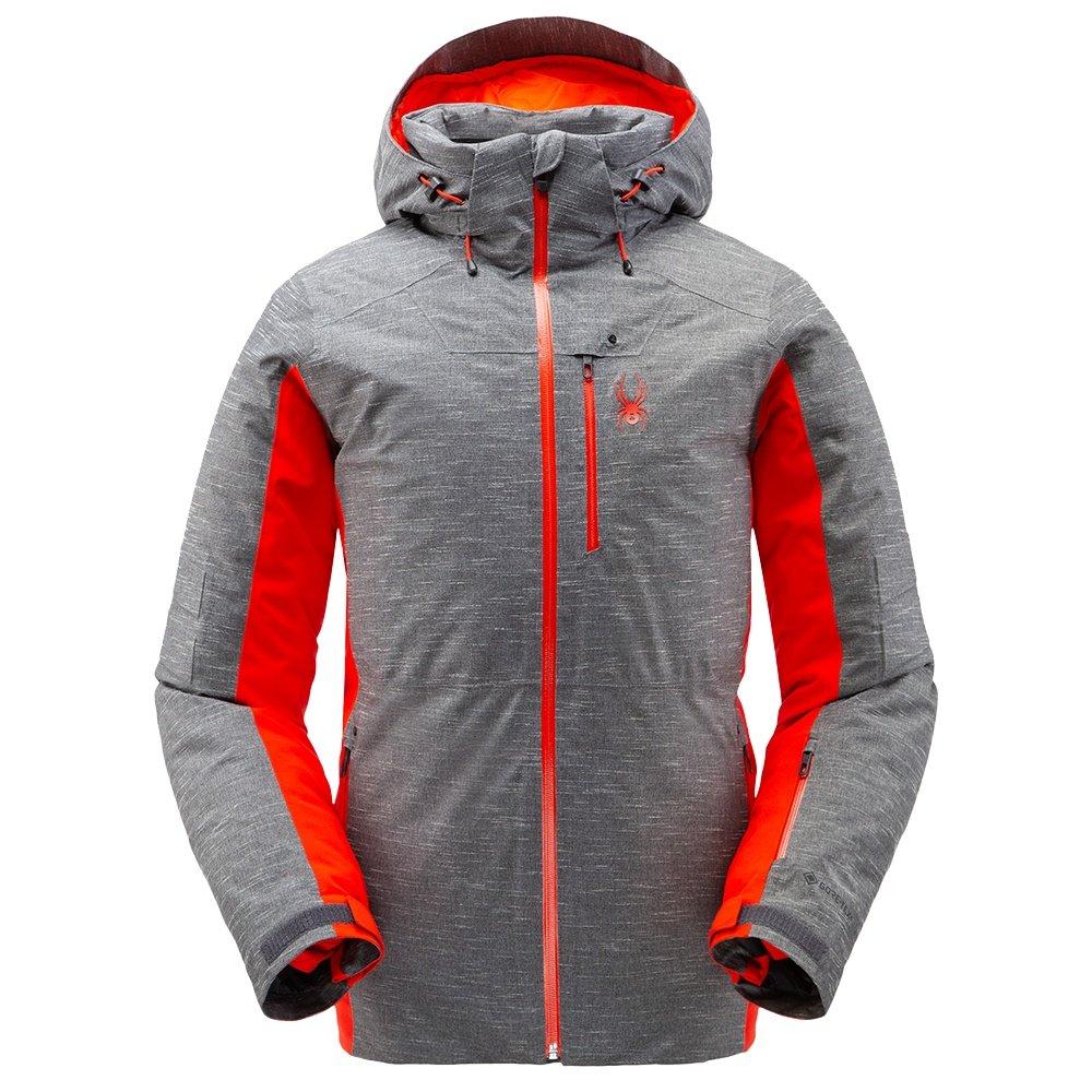 Spyder Orbiter GORE-TEX LE Insulated Ski Jacket (Men's) - Novelty Ebony