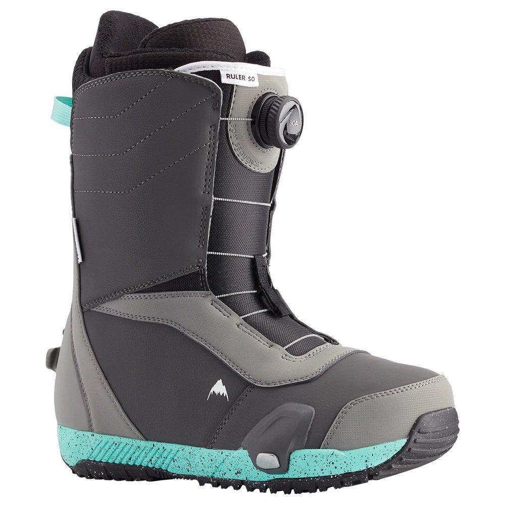 Burton Ruler Step On Snowboard Boot (Men's) - Gray/Teal