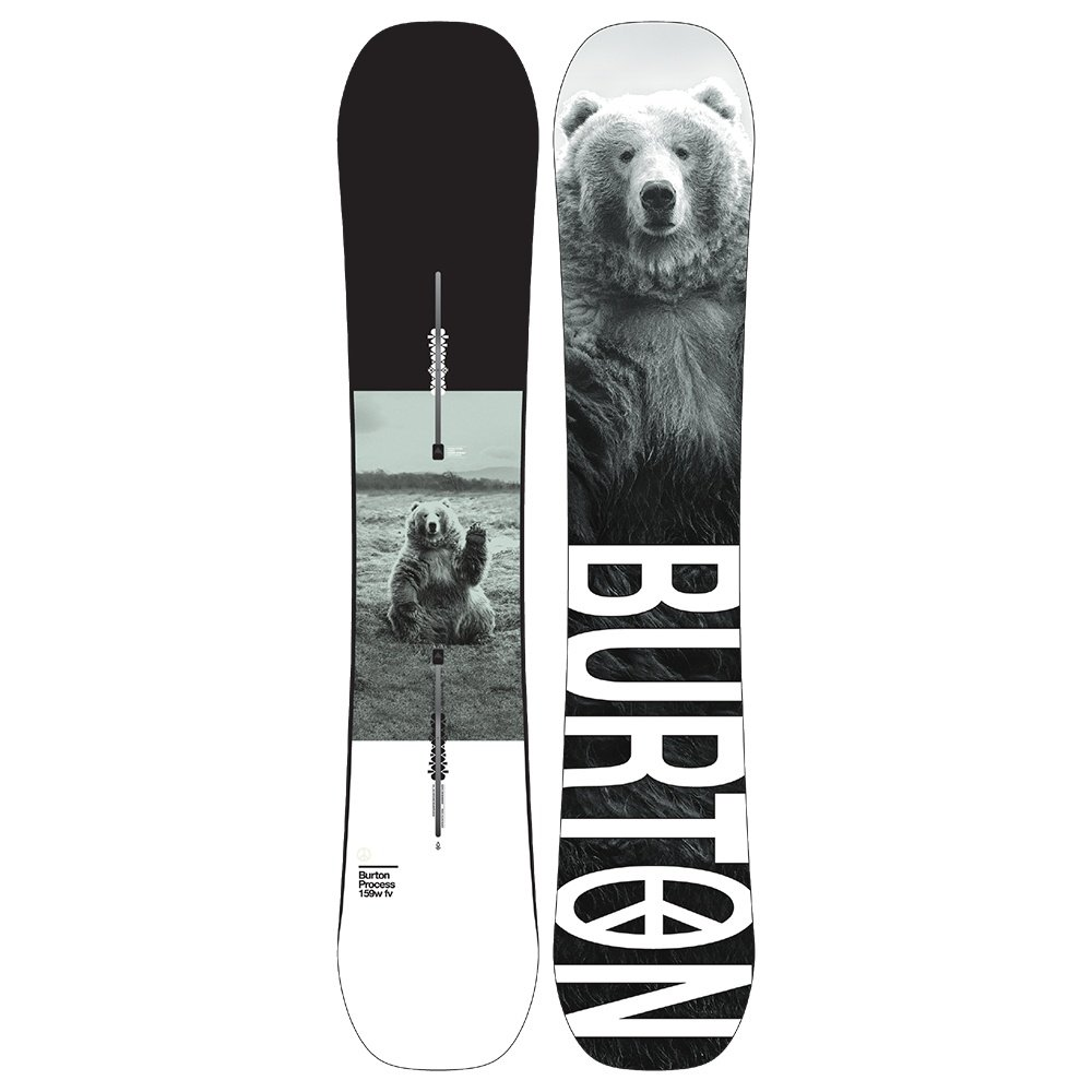 Burton Process Flying V Wide Snowboard (Men's) - 159