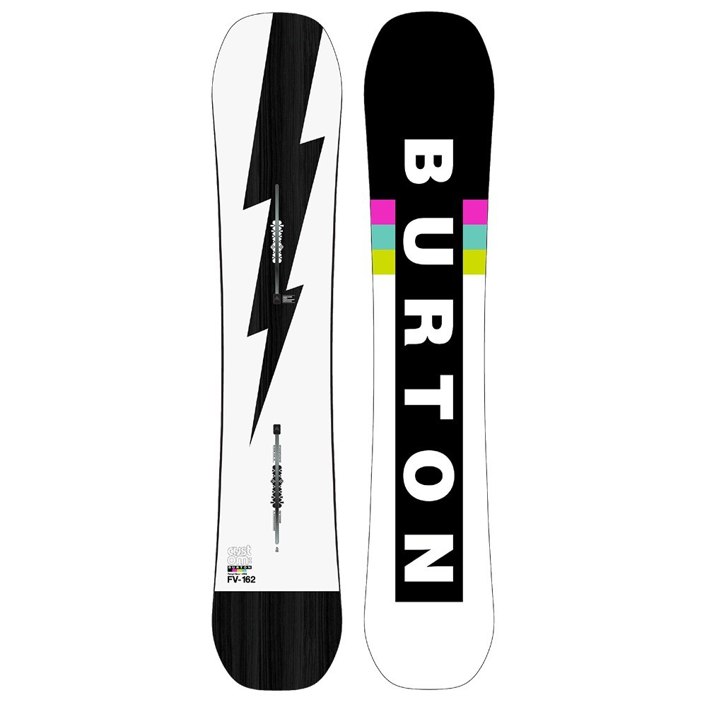 Burton Custom Flying V Wide Snowboard (Men's) - 162