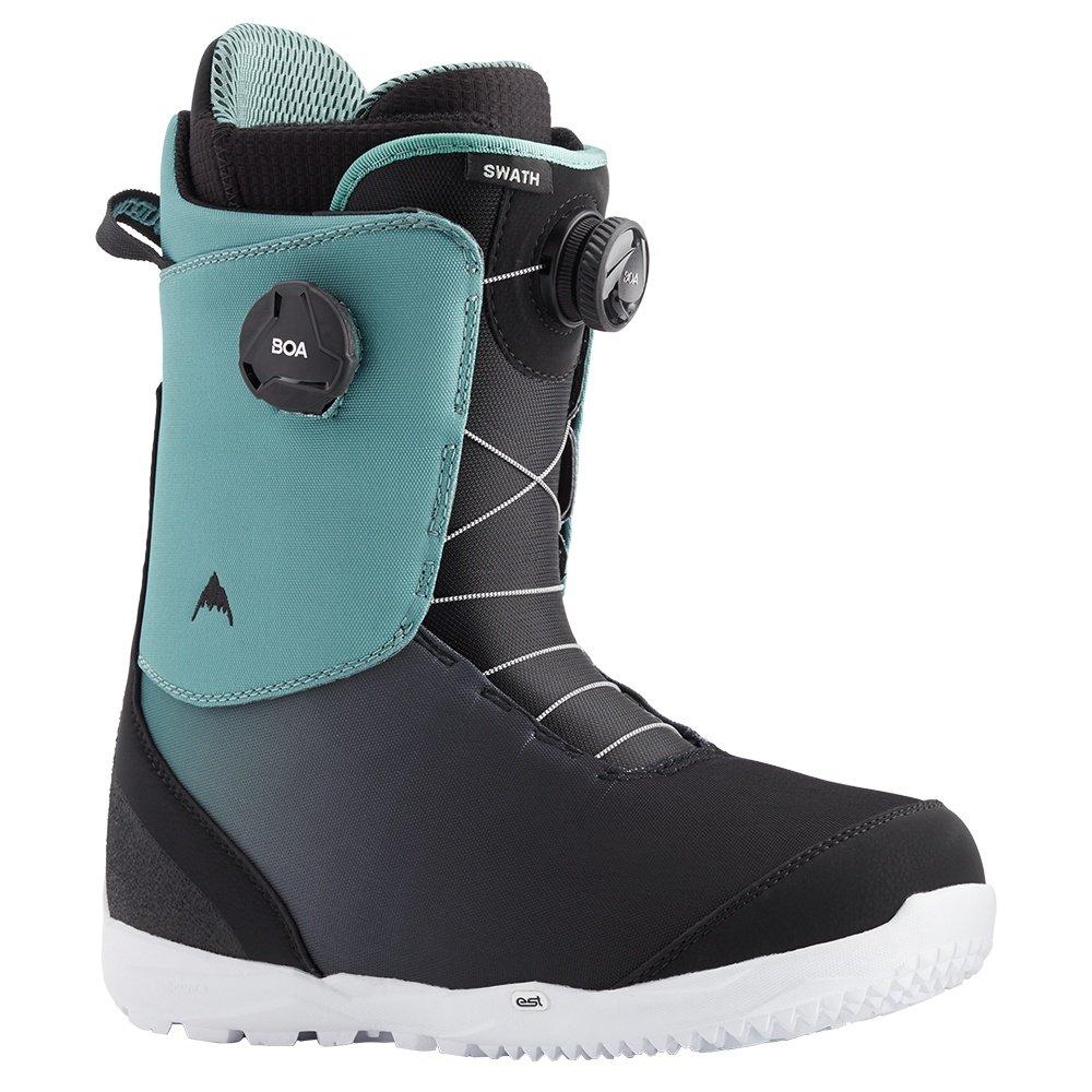 Burton Swath Boa Snowboard Boot (Men's) - Slate/Black/Fade