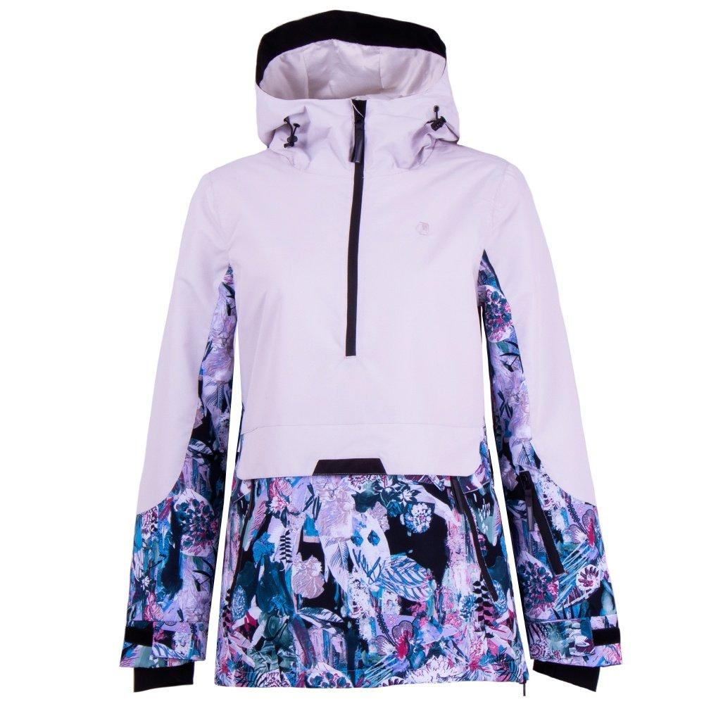 Liquid Lone Insulated Snowboard Jacket (Women's) - Cloud