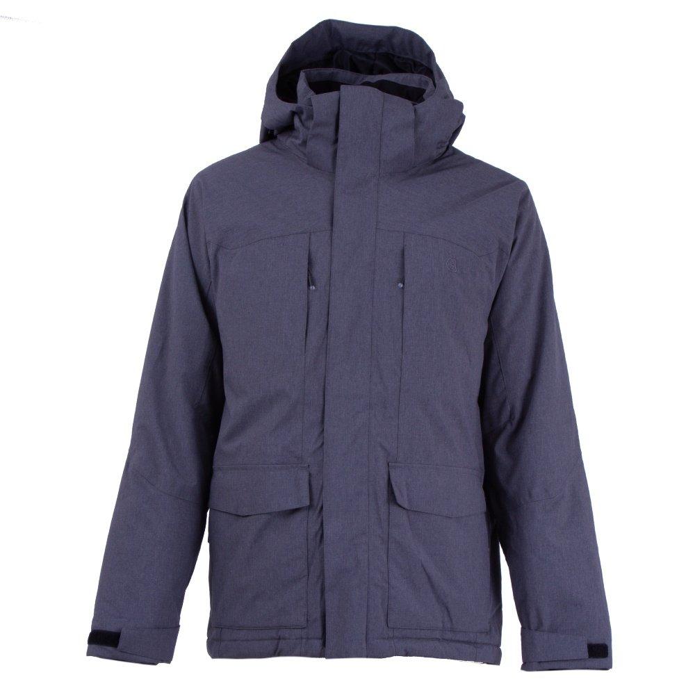Liquid Ash Insulated Snowboard Jacket (Men's) - Charcoal/Grey