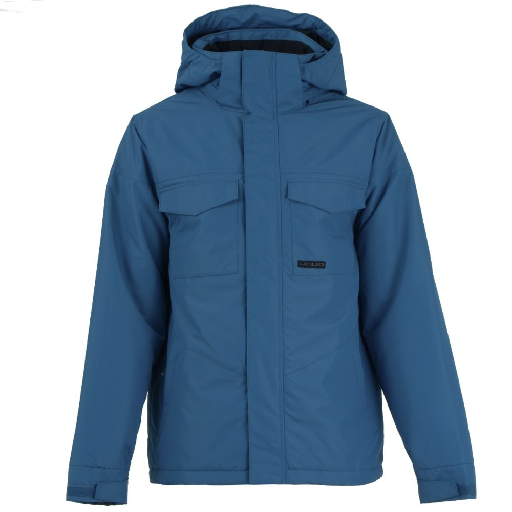 Liquid Fox Insulated Snowboard Jacket (Men's) - Cobalt