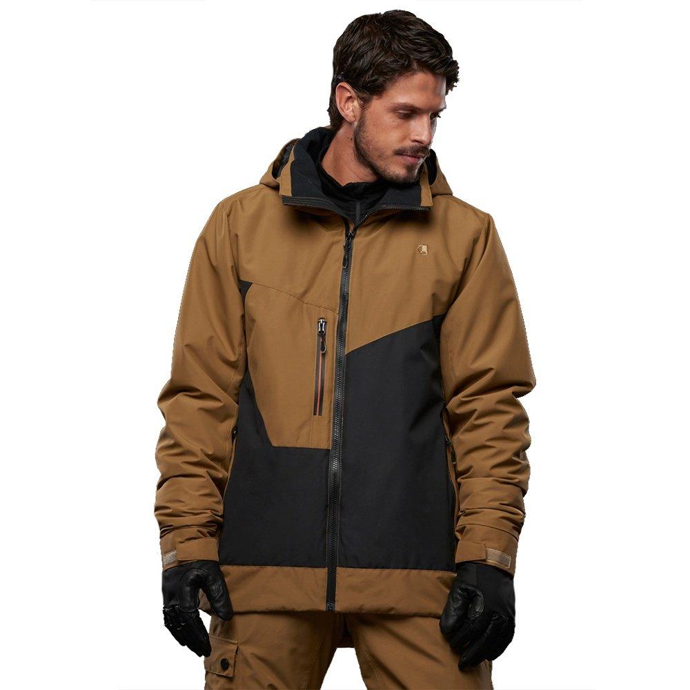 Liquid Dark Insulated Snowboard Jacket (Men's) - Bark/Black