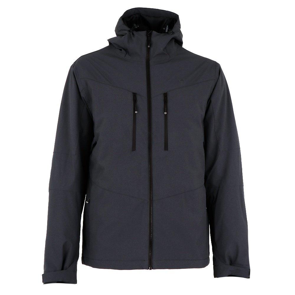 Liquid Wedge Insulated Snowboard Jacket (Men's) - Charcoal/Grey