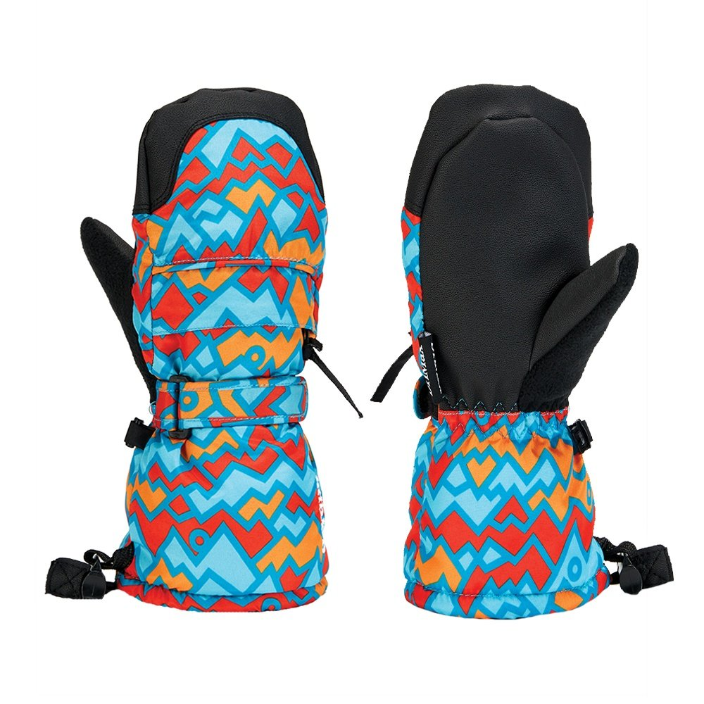 Gordini Baby Baby Baby Mitt (Little Kids') - Geo Peaks Blue/Orange