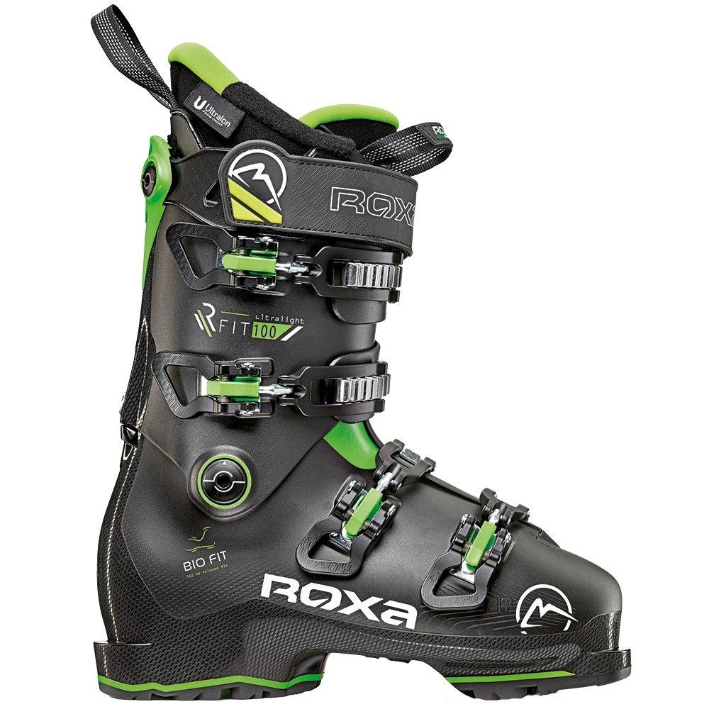 Roxa R/Fit 100 Ski Boot (Men's) - Black/lime