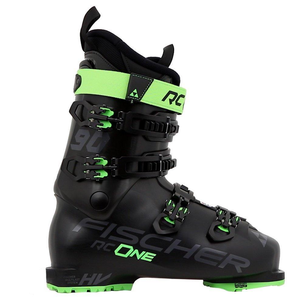 Fischer RC One 90 Vacuum Ski Boot (Men's) - Black/Black