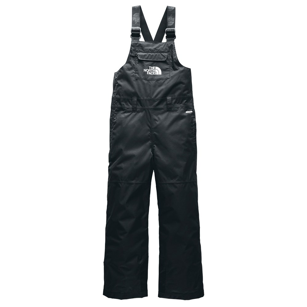 The North Face Freedom Insulated Ski Bib (Boys') - TNF Black