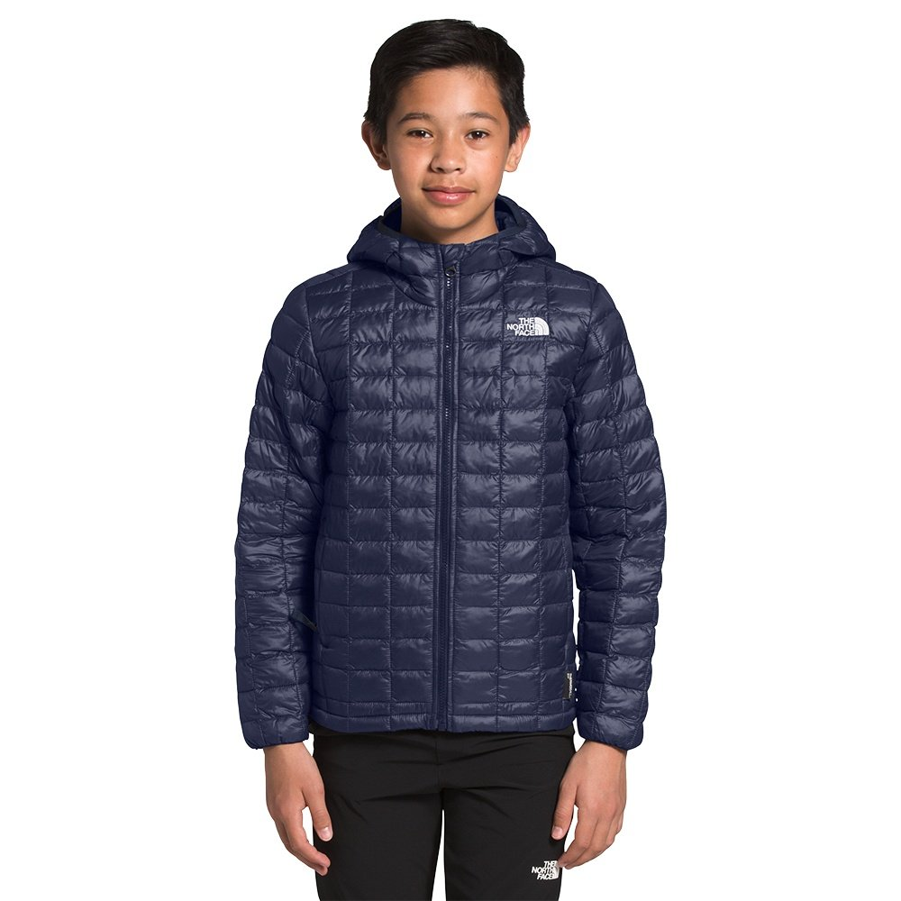 The North Face ThermoBall Eco Hoodie (Boys') - TNF Navy