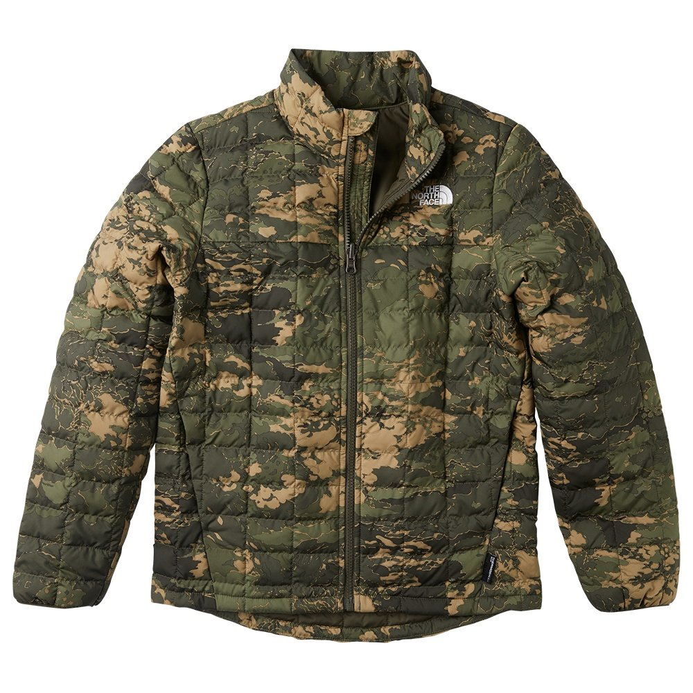 The North Face ThermoBall Eco Jacket (Boys') - New Taupe Green Camo Print