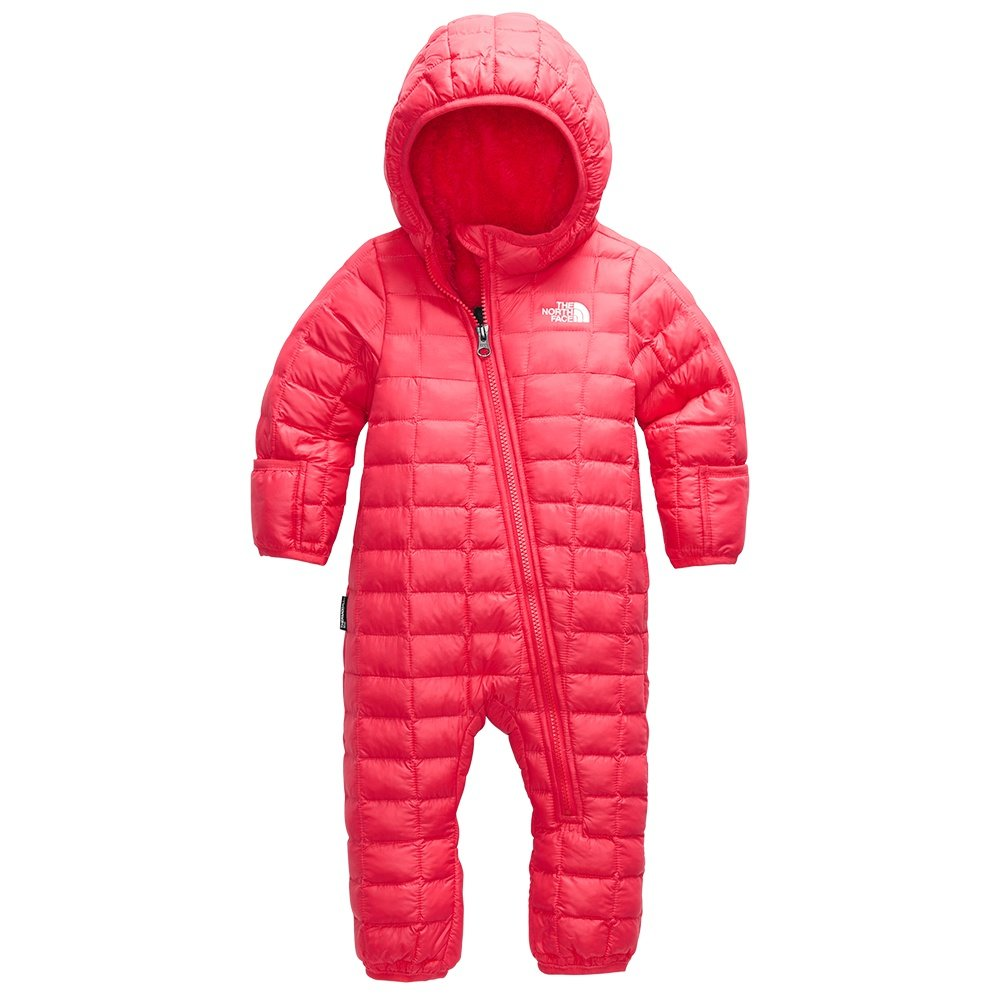 The North Face Infant ThermoBall Eco Bunting Suit (Little Kids') - Paradise Pink