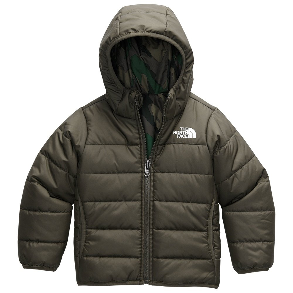 The North Face Reversible Perrito Jacket (Little Girls') - New Taupe Green