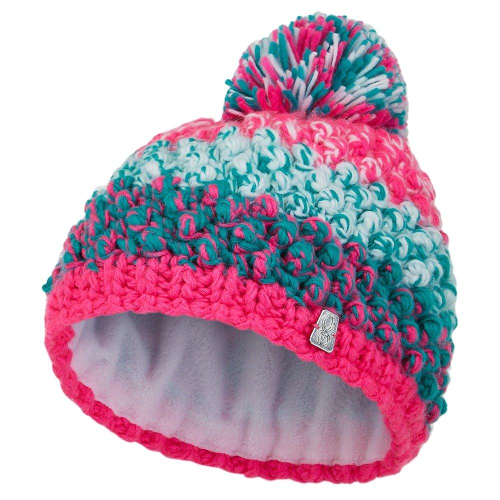 Spyder Bitsy Brrr Berry Hat (Little Girls') - Bryte Bubble Gum/Scuba