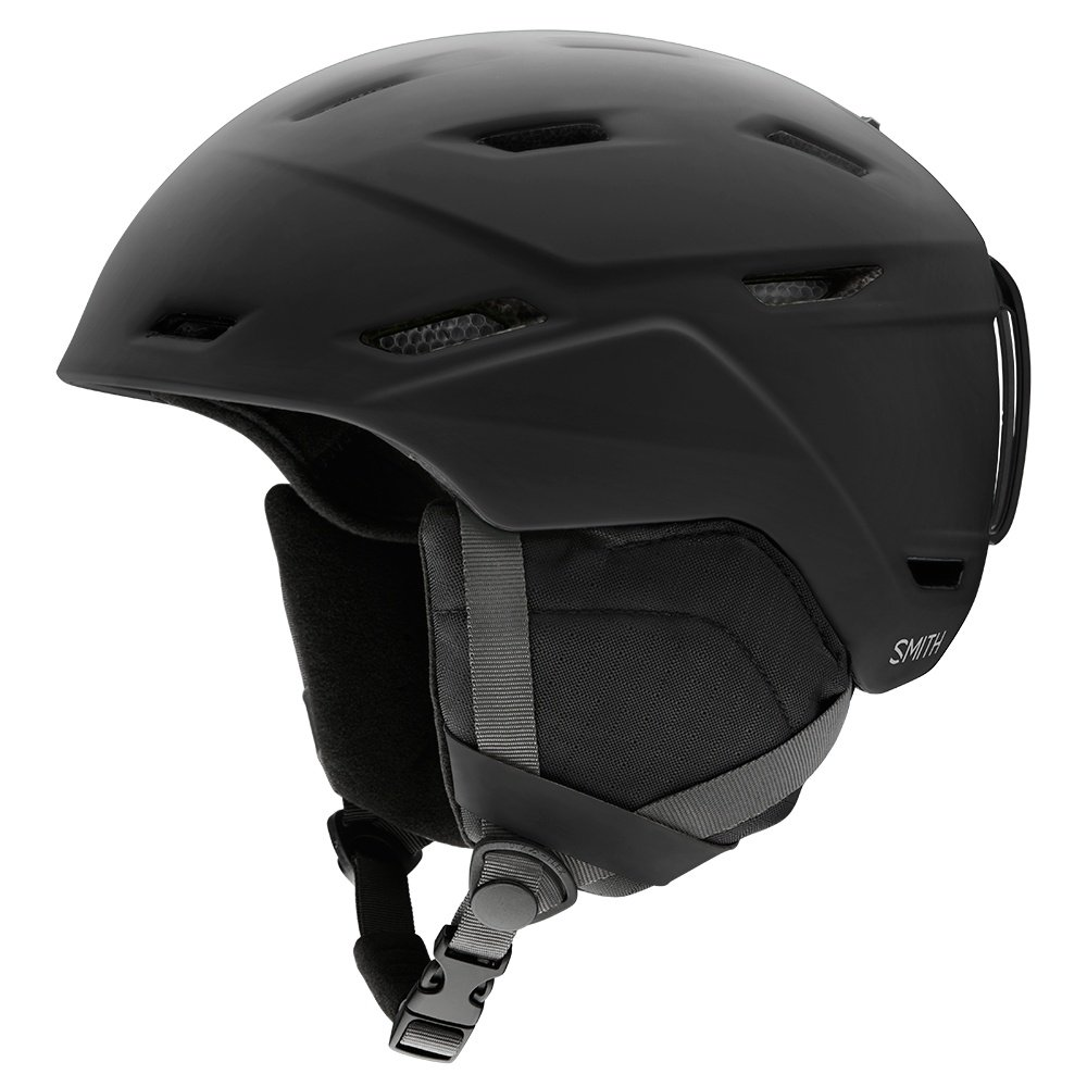 Smith Mission Helmet (Men's) - Black Matte