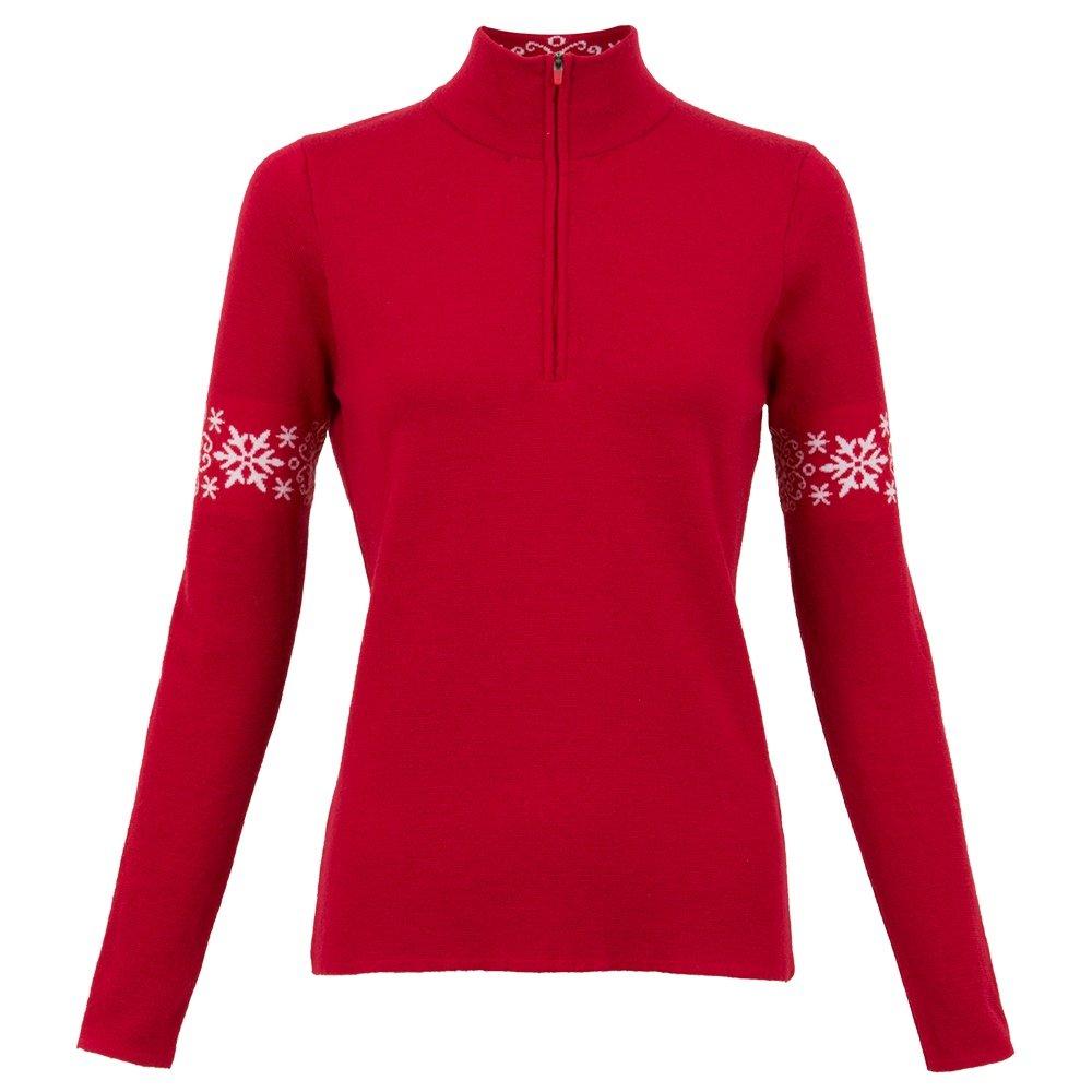 Krimson Klover Lookout 1/4-Zip Sweater (Women's) - Crimson