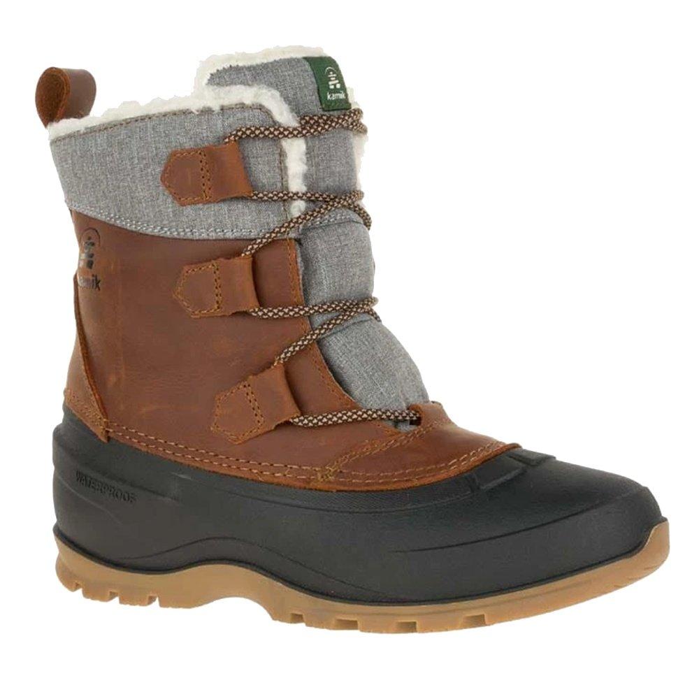 Kamik Snowgem Lo Winter Boot (Women's) - Cognac