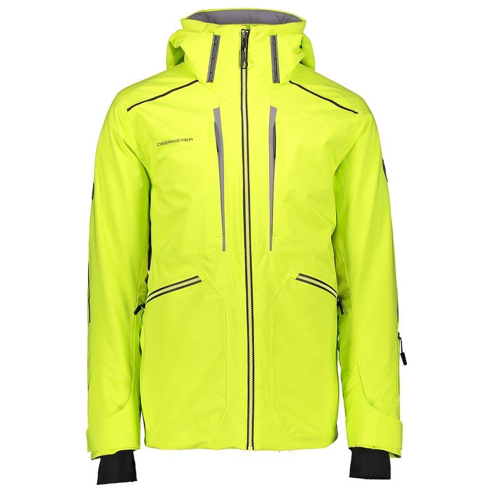 Obermeyer Kodiak Insulated Ski Jacket (Men's) - Limelight