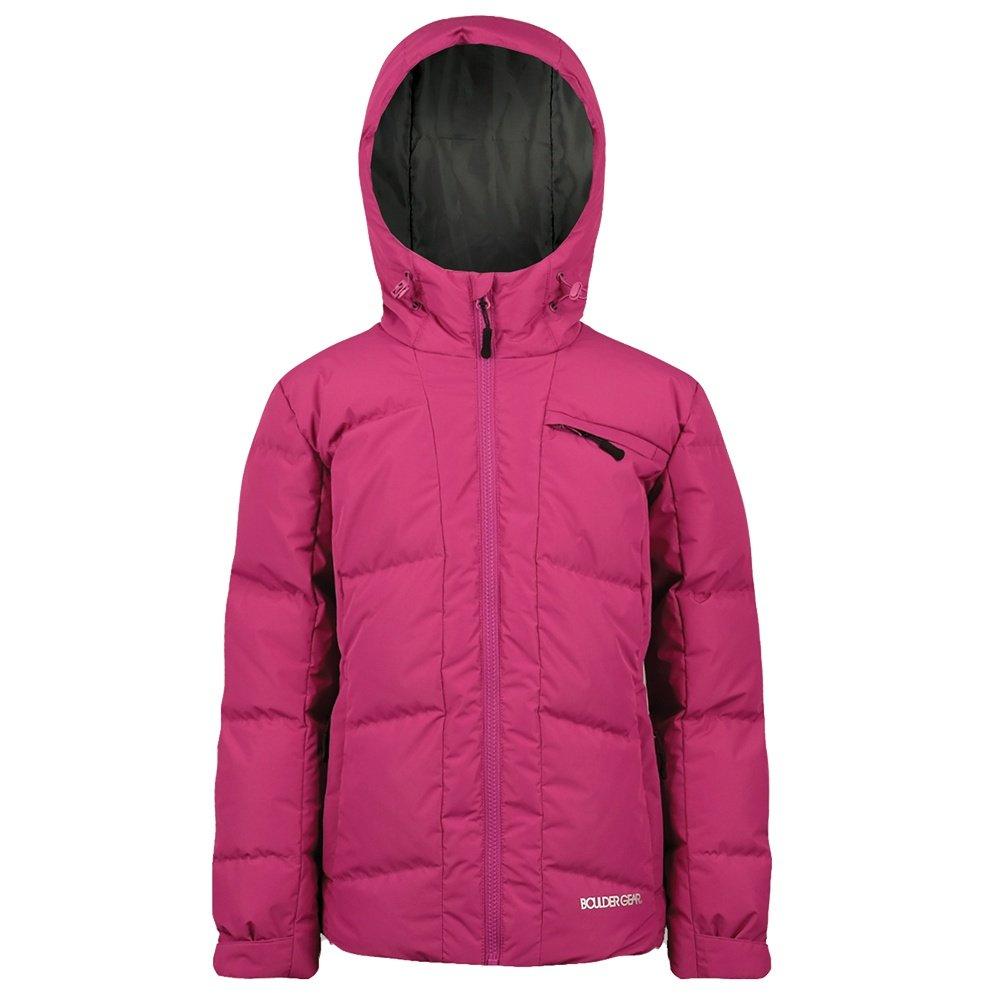 Boulder Gear Moxie Down Jacket (Girls') - Fuchsia Rose