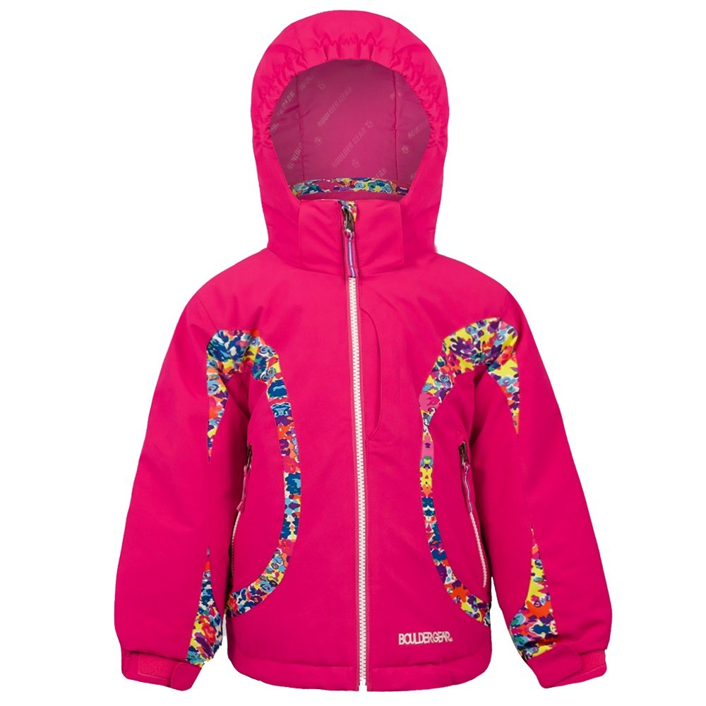 Boulder Gear Mia Insulated Ski Jacket (Little Girls') - Pink Shimmer