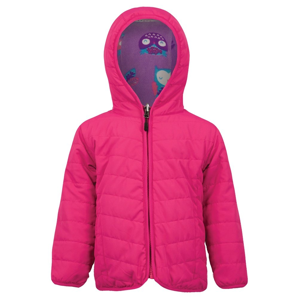 Boulder Gear Otto Reversible Fleece Insulator Jacket (Little Kids') - Pink Shimmer