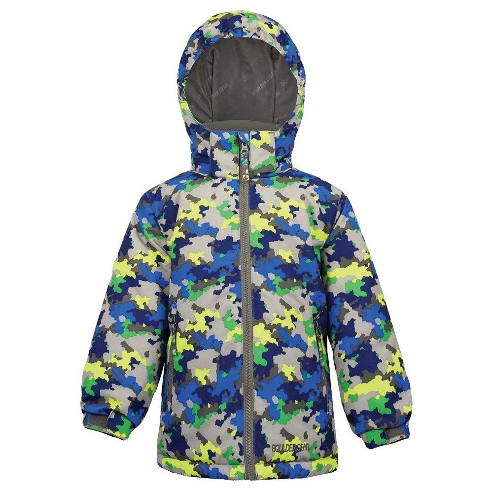 Boulder Gear Milo Insulated Ski Jacket (Little Boys') - Blue Jigsaw
