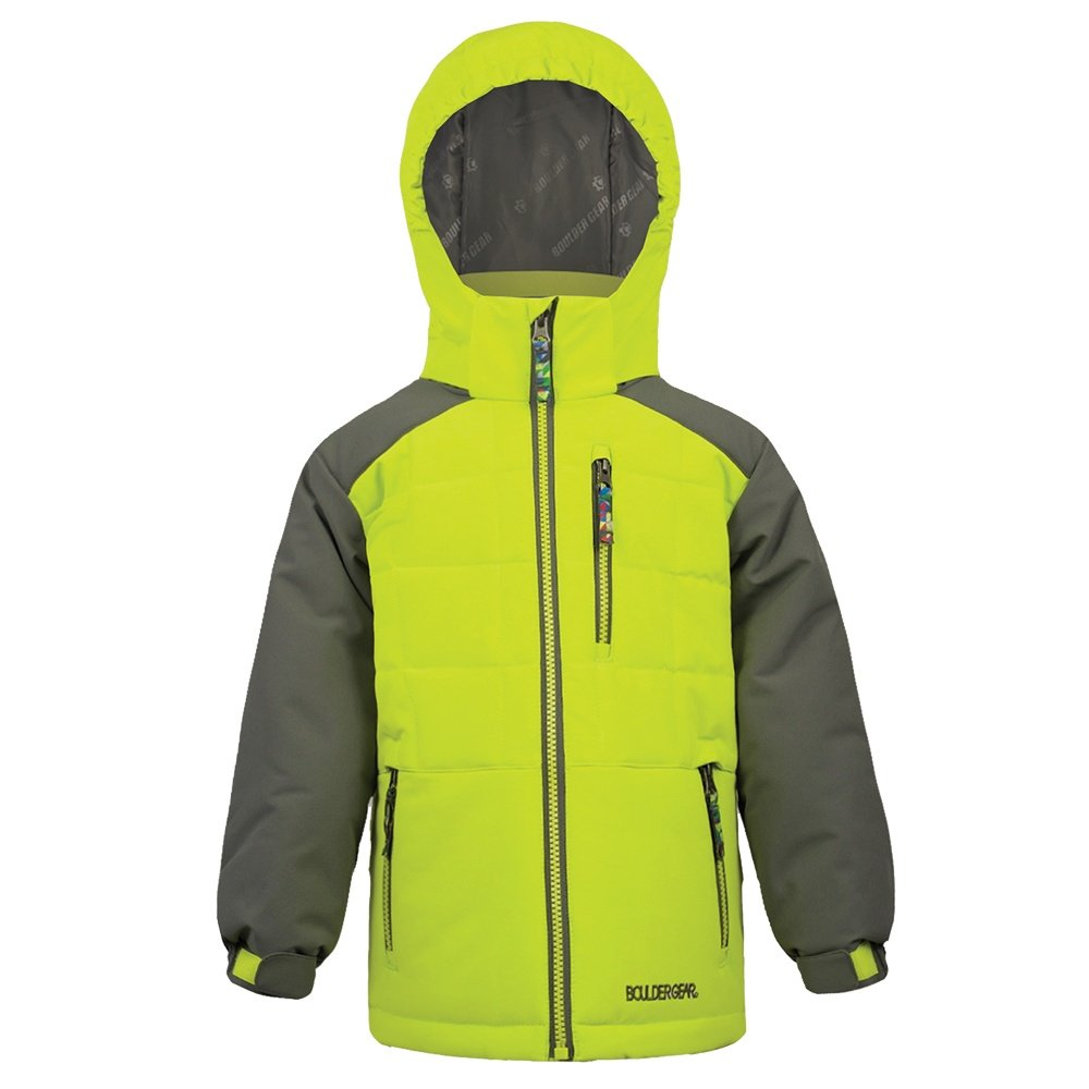 Boulder Gear Logan Insulated Ski Jacket (Little Boys') - Lime Blast