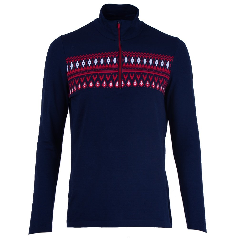 Newland Campitello 1/2-Zip Sweater (Men's) - Navy/Red
