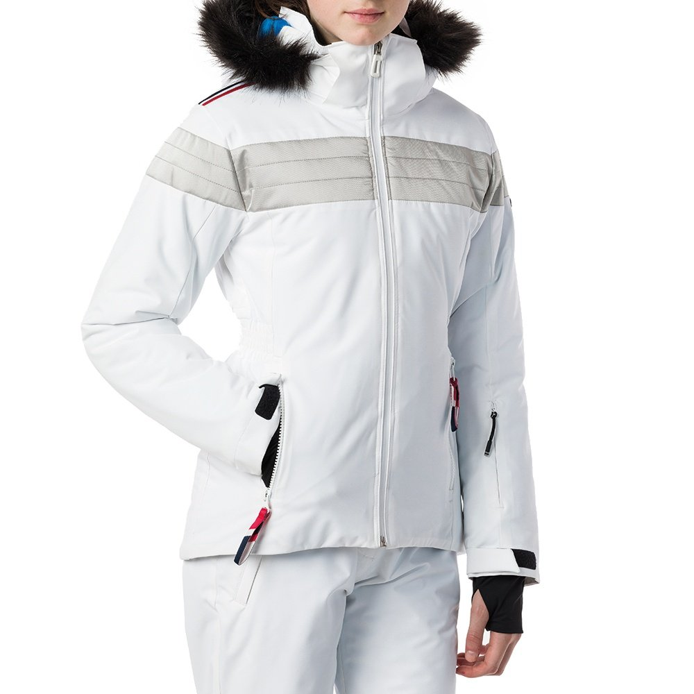 Rossignol Padded Insulated Ski Jacket (Girls') - White