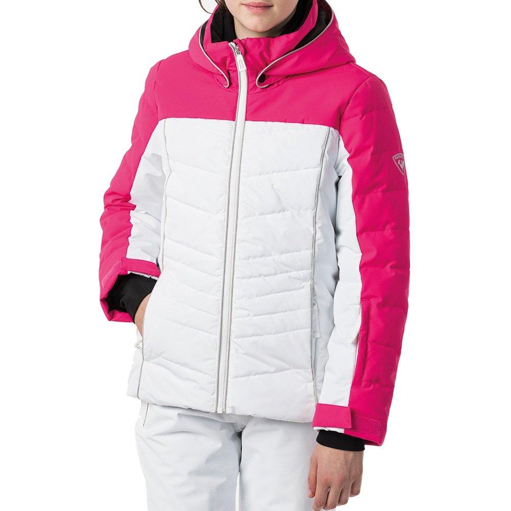 Rossignol Polydown Pearly Insulated Ski Jacket (Girls') - Pink Fushia