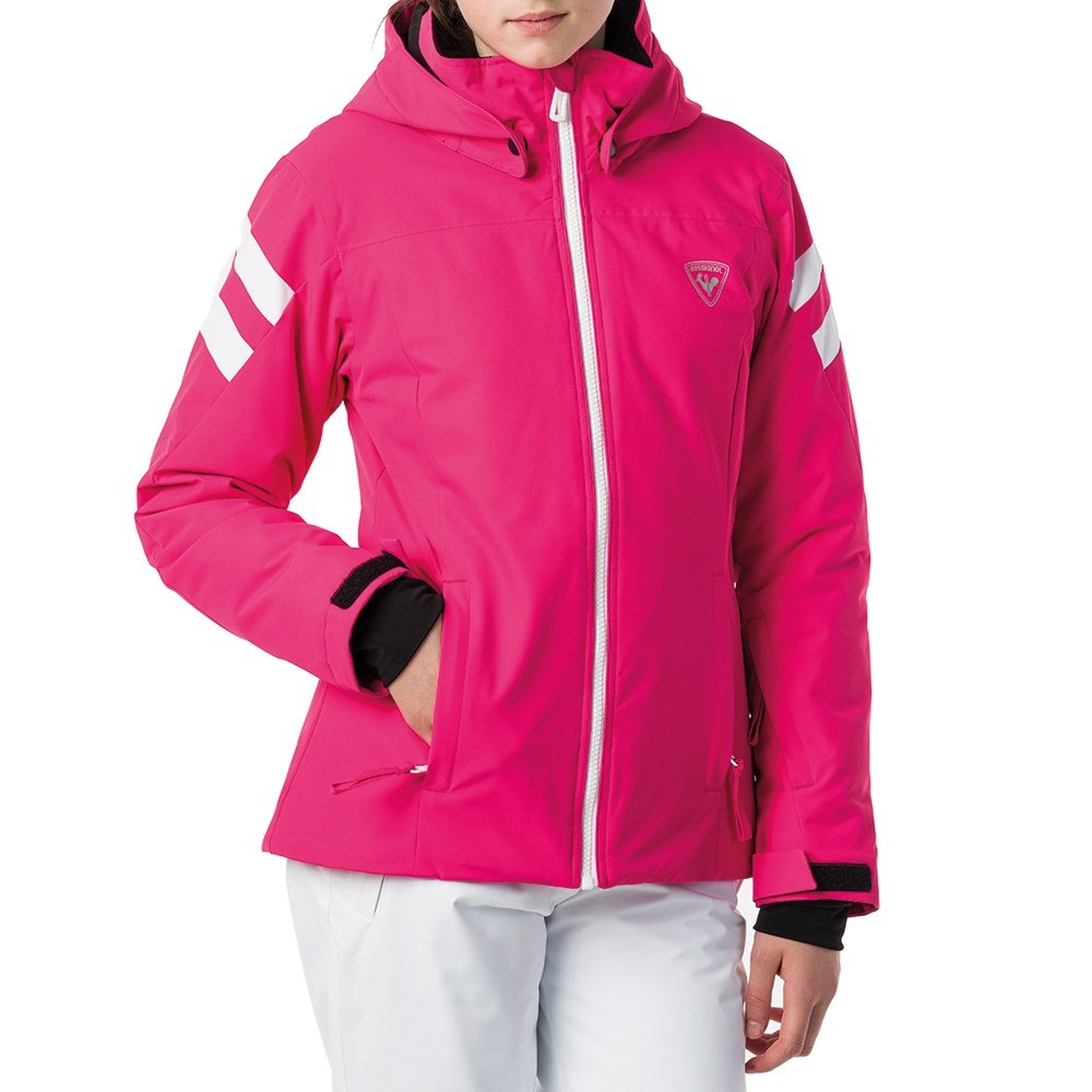 Rossignol Ski Insulated Ski Jacket (Girls') - Pink Fushia
