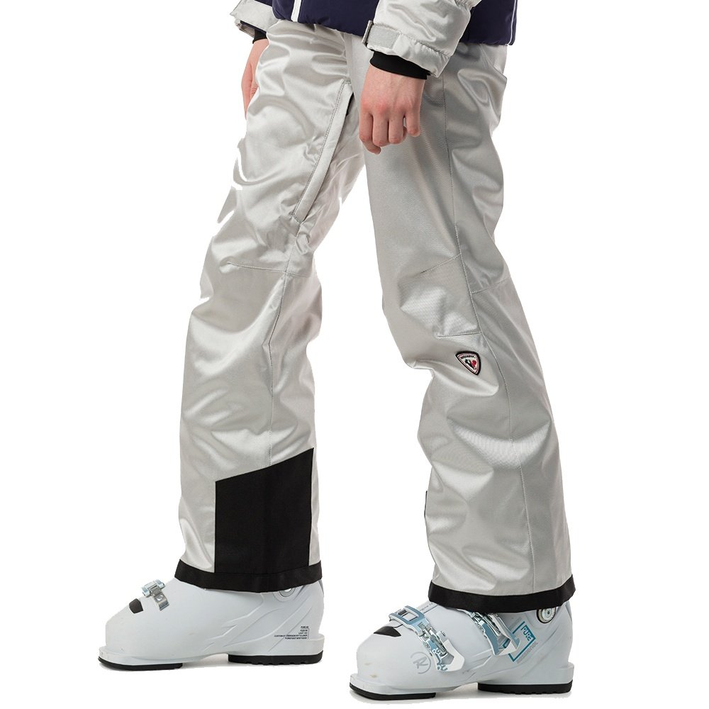 Rossignol Hiver Silver Insulated Ski Pant (Girls') - Silver