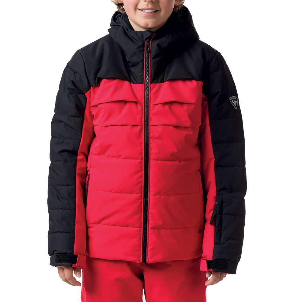 Rossignol Polydown Insulated Ski Jacket (Boys') - Sports Red