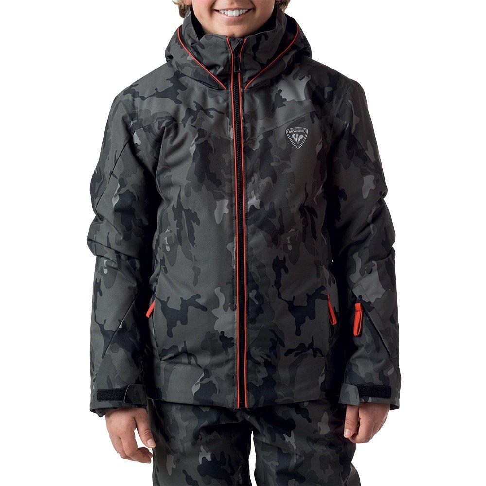 Rossignol Fonction Print Insulated Ski Jacket (Boys') - Camo Grey