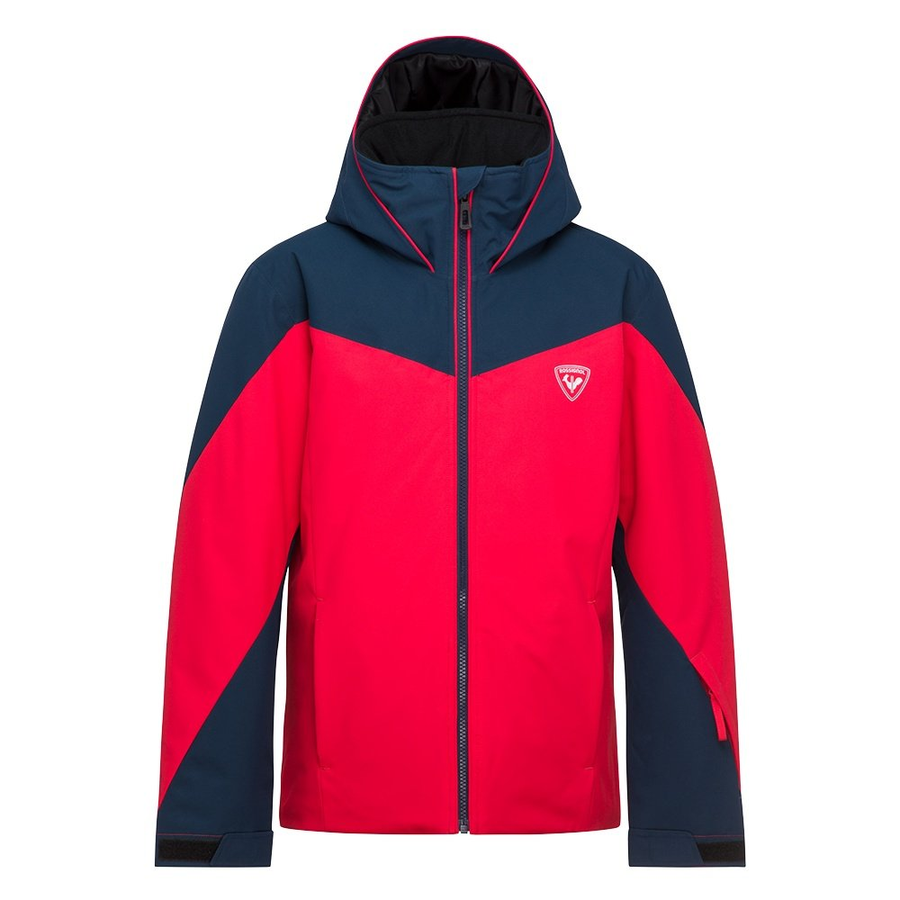 Rossignol Fonction Insulated Ski Jacket (Boys') - Sports Red