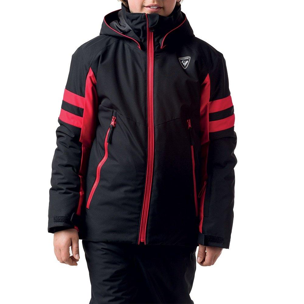 Rossignol Ski Insulated Ski Jacket (Boys') - Black