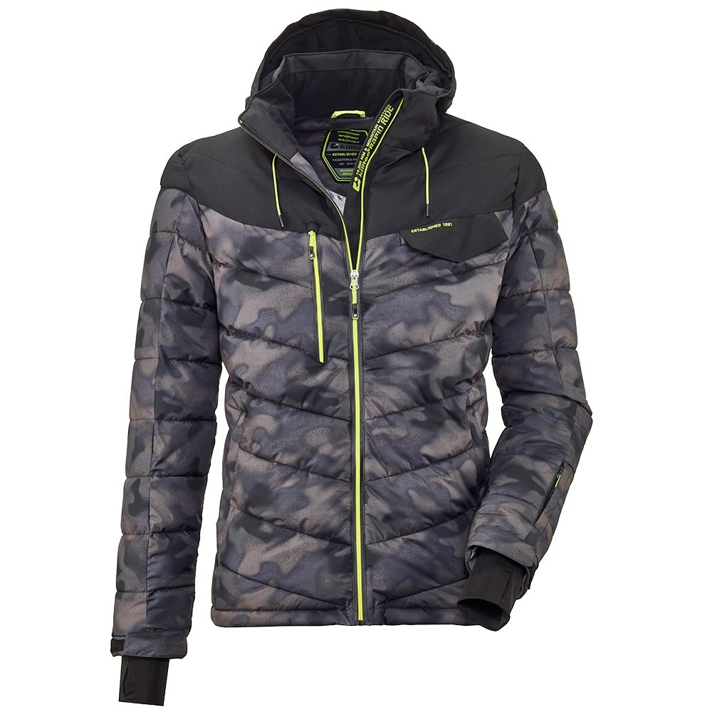 Killtec Combloux Quilted Insulated Ski Jacket (Men's) - Graphite