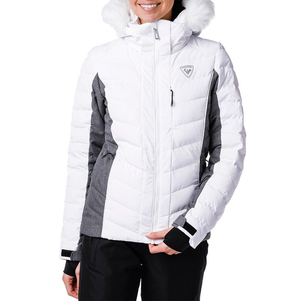 Rossignol Rapide Heather Down Ski Jacket (Women's) - Heather Grey