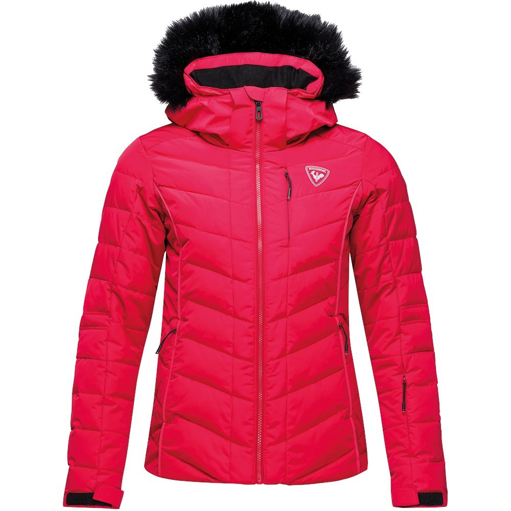 Rossignol Rapide Pearly Down Ski Jacket (Women's) - Carmin