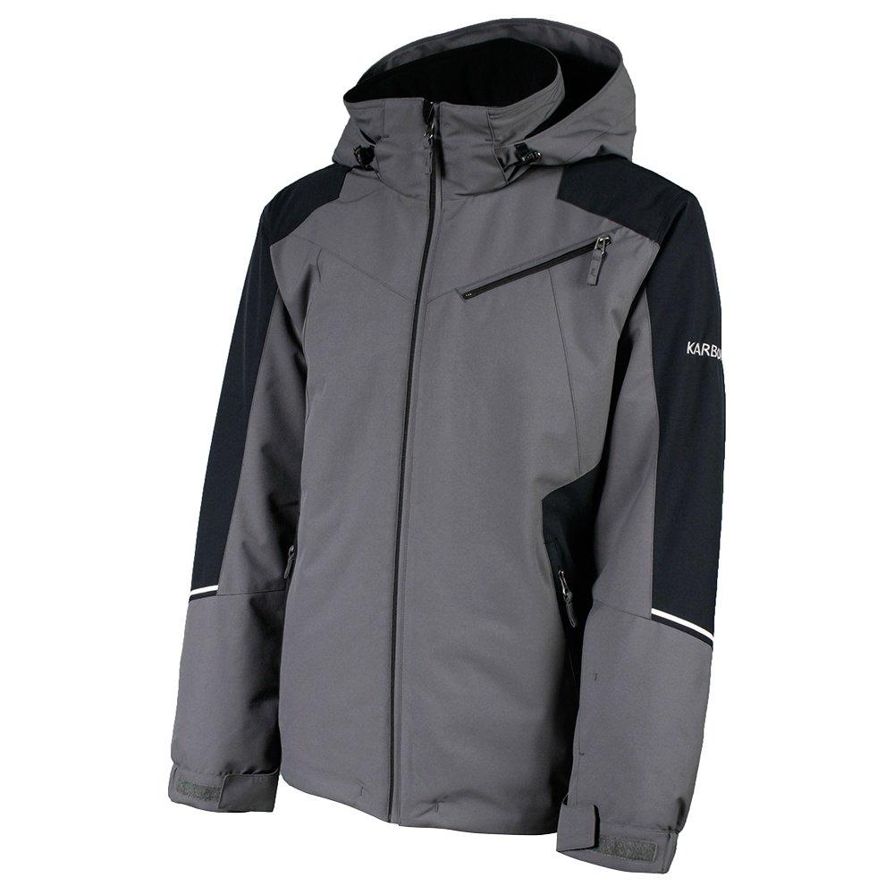 Karbon Matter Insulated Ski Jacket (Men's) - Crater Grey/Black/Arctic White