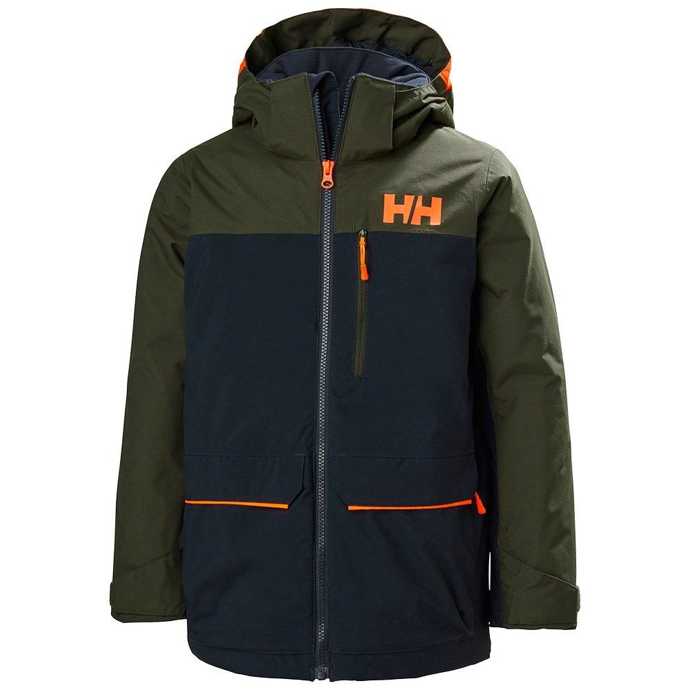 Helly Hansen Tornado Insulated Ski Jacket (Boys') - Navy