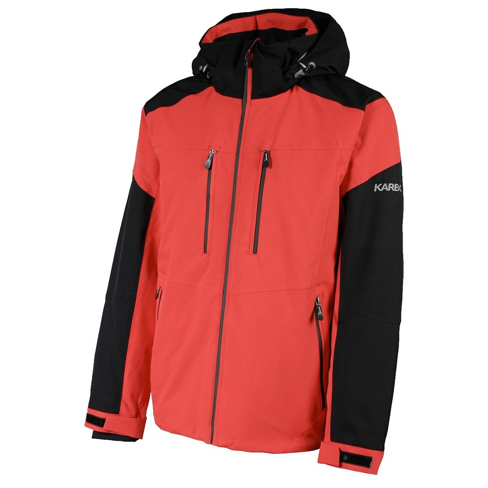 Karbon Hydrogen Insulated Ski Jacket (Men's) - Red/Black