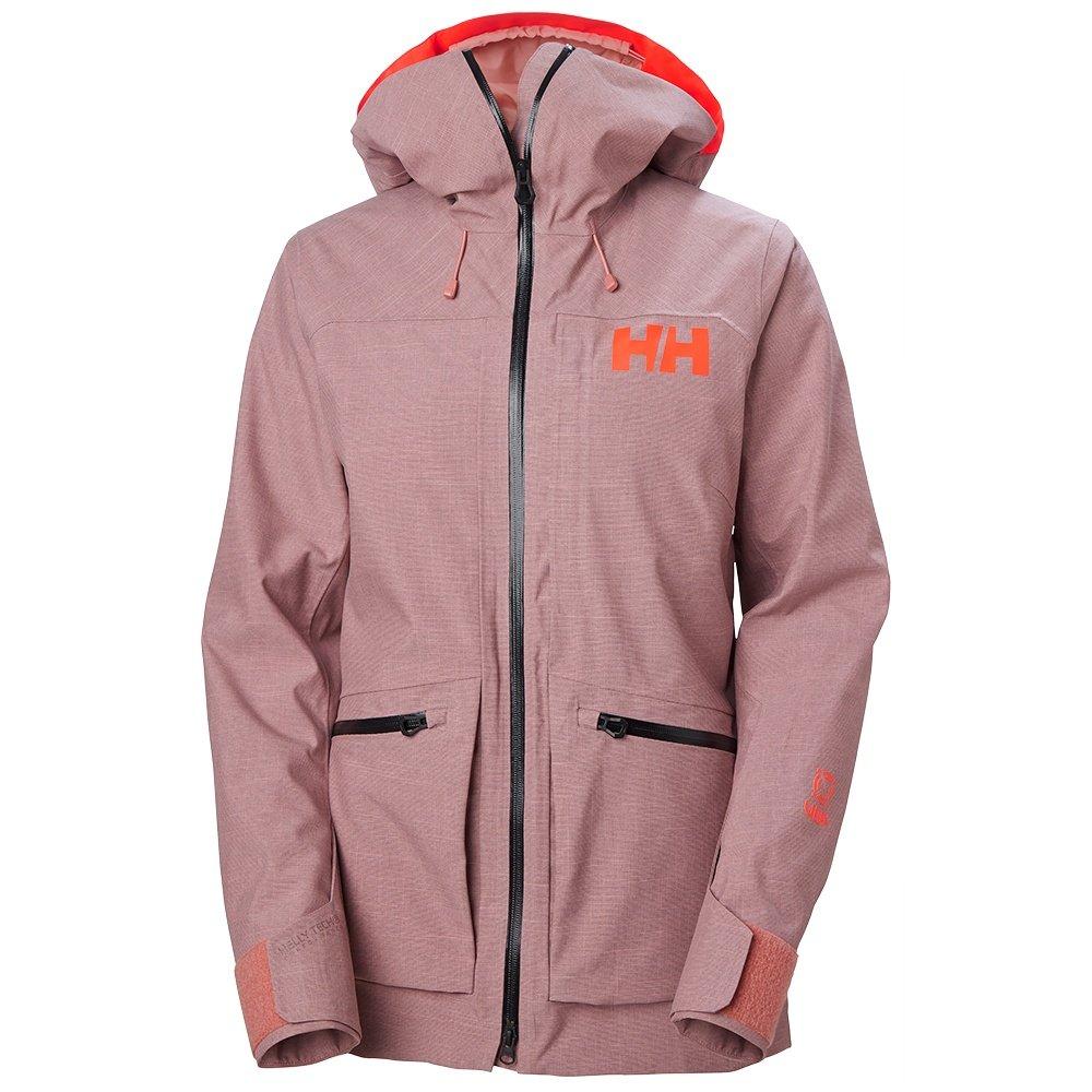 Helly Hansen Powderqueen 3.0 Insulated Ski Jacket (Women's) - Ash Rose