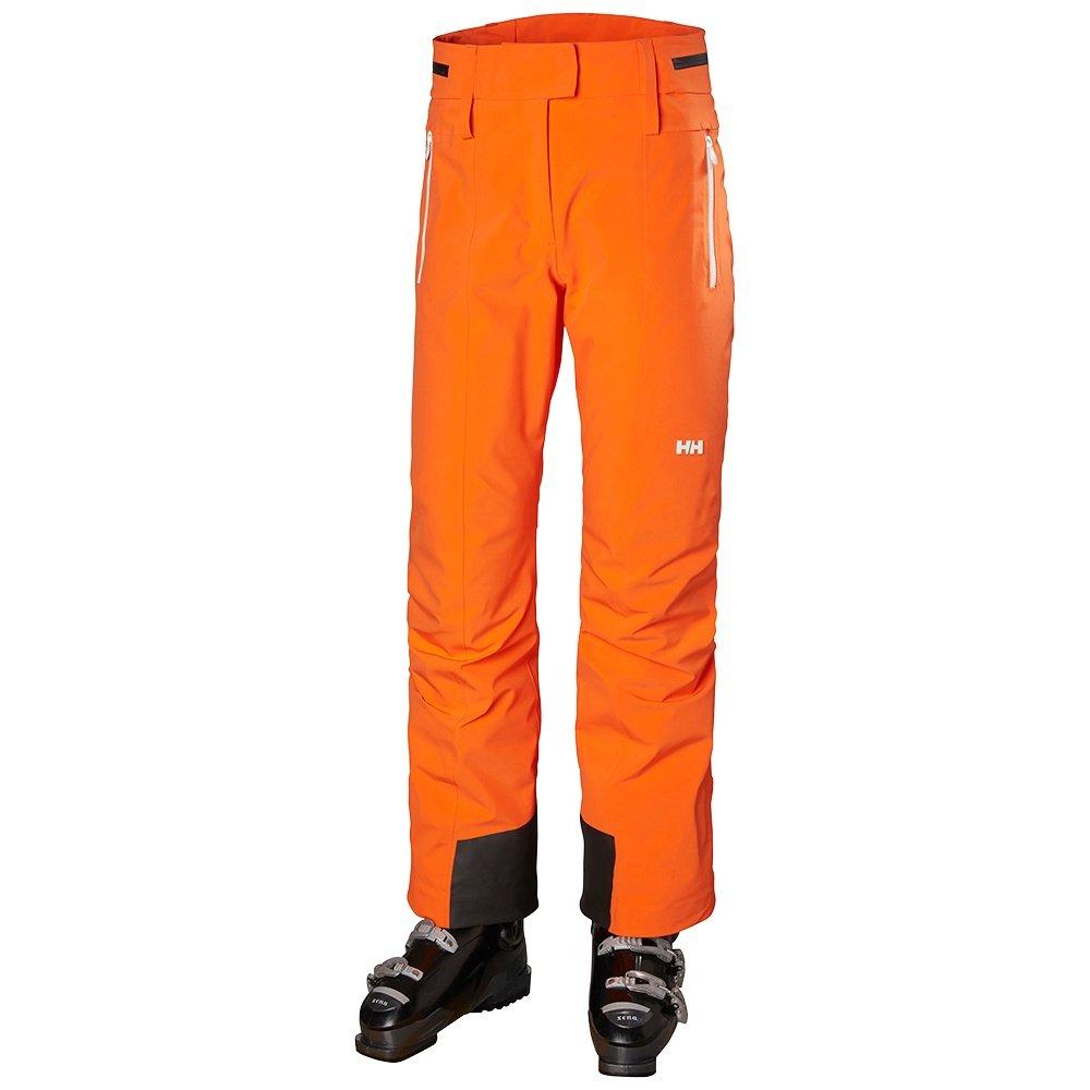 Helly Hansen Sapporo Stretch Highwaist Softshell Ski Pant (Women's) - Bright Orange