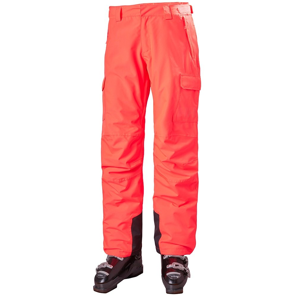 Helly Hansen Switch Cargo Insulated Ski Pant (Women's) - Neon Coral
