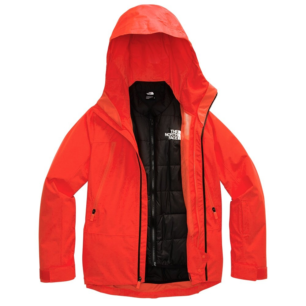 The North Face Clementine Triclimate Jacket (Women's) - Flare Red/TNF Black