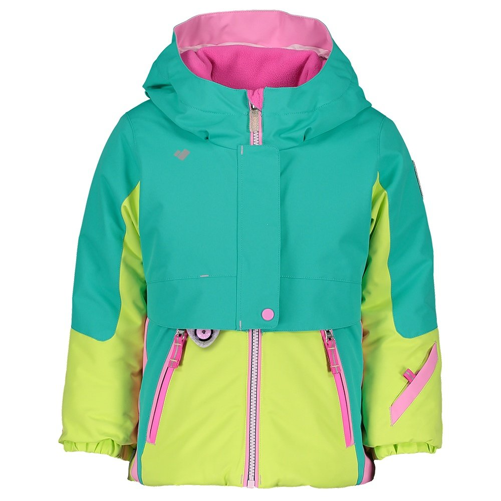 Obermeyer Stormy Insulated Ski Jacket (Little Girls') - Off Tropic